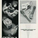 1949 Orfina Watch Company Jenco Watch Co Jenny Frey Switzerland 1949 Swiss Ad Suisse Advert