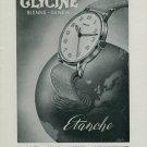 1944 Glycine Watch Company Switzerland Vintage 1944 Swiss Ad Suisse Advert Horlogerie Horology