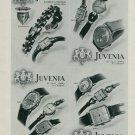 1944 Juvenia Watch Company Switzerland Vintage 1944 Swiss Ad Suisse Advert Horlogerie Horology
