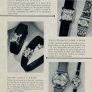 1953 Omega Watch Company Ulysse Nardin Watch Co. Octo 1953 Nouveaux Modeles Swiss Magazine Article