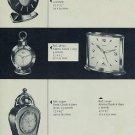 1957 Swiza Clock Company Moutier Switzerland Vintage 1957 Swiss Ad Suisse Advert Horlogerie Horology