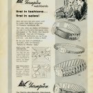 1958 Jacoby-Bender J-B Champion Watchbands Advert 1958 Swiss Ad Suisse Advert Horology Horlogerie