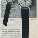 1958 Leonidas Watch Company St-Imier Switzerland 1958 Swiss Ad Suisse Advert Horology Horlogerie