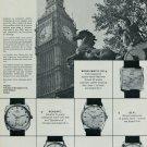 1967 Atlantic Watch Company Bettlach Switzerland Big Ben Vintage 1967 Swiss Ad Suisse Advert