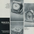 1967 Swiza Clock Company Switzerland Louis Schwab SA Vintage1967 Swiss Ad Suisse Advert Horology