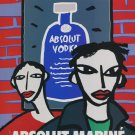 Oscar Marine Brandi Absolut Marine Art Ad Absolut Vodka Advertisement Advert