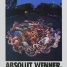 Kurt Wenner Absolut Wenner Art Ad Absolut Vodka Advertisement Advert
