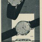 1957 Silvana Watch Company Switzerland Vintage 1957 Swiss Ad Suisse Advert
