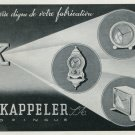 1947 G Kappeler S.A. Zofingue Switzerland Vintage 1947 Swiss Ad Suisse Advert Horology