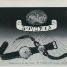 1947 Hoverta Watch Company H Hofer Switzerland Vintage 1947 Swiss Ad Suisse Advert