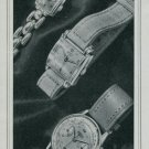 1947 Norexa Watch Company Bienne Switzerland Vintage 1947 Swiss Ad Suisse Advert Horology
