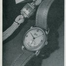 1947 Prexa Watch Company Switzerland Vintage 1947 Swiss Ad Suisse Advert Horology