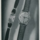 1947 Zila Watch Company Switzerland Vintage 1947 Swiss Ad Suisse Advert Horology Horlogerie