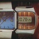 1977 Mido Watch Company Switzerland Vintage 1977 Swiss Ad Suisse Advert Horology