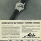 1965 Mido Watch Company Switzerland Vintage 1965 Swiss Ad Suisse Advert  Horology