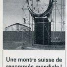 1957 Roamer Watch Company Soleure Switzerland Vintage 1957 Swiss Ad Suisse Advert