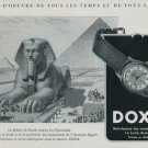 1947 Doxa Watch Company Spinx Vintage 1947 Swiss Ad Suisse Advert Switzerland Horology
