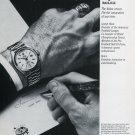 Lamar Hunt Rolex Watch Company 1979 Ad Magazine Advert Advertisement  Football