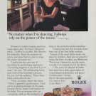 Cynthia Gregory Rolex Watch Company 1994 Ad Magazine Advert Advertisement