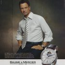 Gary Sinise Baume & Mercier Watch Company 2007 Ad Magazine Advert Advertisement