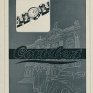 1946 Cortebert Watch Company Switzerland Vintage 1946 Swiss Ad Suisse Advert Horology