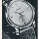 1951 Precimax Watch Company Switzerland Vintage 1951 Swiss Ad Suisse Advert Horology
