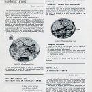 1951 Cyma Watch Company Juvenia Zenith Cortebert Vintage 1951 Swiss Magazine Article