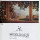 1975 Maxfield Parrish Vintage 1975 Art Exhibition Ad Advert Advertisement Daybreak