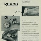 1957 Repco Watch Company Cuffette Advert Vintage 1957 Ad Suisse Advert Switzerland