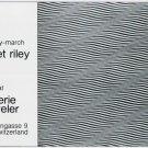 1975 Bridget Riley Vintage 1975 Art Exhibition Ad Advert Galerie Beyeler Basel Switzerland
