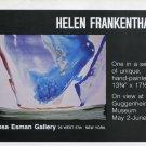 1975 Helen Frankenthaler Vintage 1975 Art Exhibition Ad Advert Guggenheim Museum