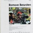 1975 Romare Bearden The Train Advert Vintage 1975 Art Ad Advert Magazine Advertisement