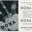 1946 Doxa Watch Company Le Locle Switzerland Vintage 1946 Swiss Ad Suisse Advert Horology