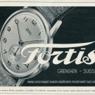 1946 Fortis Watch Company Grenchen Switzerland Vintage 1946 Swiss Ad Suisse Advert Horology