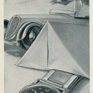 1946 Damas Watch Company Beguelin & Co. Switzerland Vintage 1946 Swiss Ad Suisse Advert