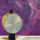 Sindaco Clock Company Vintage 1965 Swiss Ad Suisse Advert Switzerland