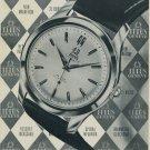 1954 Titus Watch Company Paul Ditisheim SA Switzerland Vintage 1954 Swiss Ad Suisse Advert