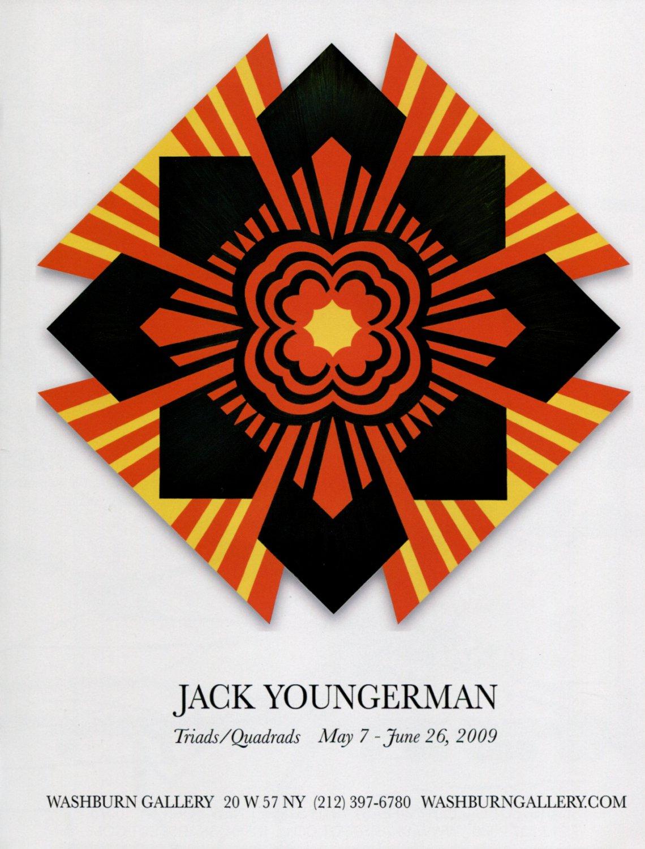 Jack Youngerman Triads/Quadrads 2009 Art Exhibition Ad Advert