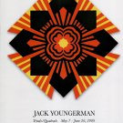 Jack Youngerman Triads/Quadrads 2009 Art Exhibition Ad Advert