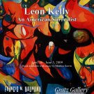 Leon Kelly An American Surrealist 2009 Art Exhibition Ad Advert