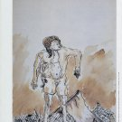 Georg Baselitz 1994 Art Exhibition Ad Advert Works on Paper from the Sixties