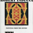 Robert Indiana Paintings from the Sixties 1994 Art Ad Love Wall Advert