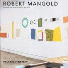 Robert Mangold 2009 Art Exhibition Ad Advert Pacewildenstein