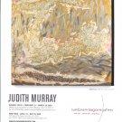 Judith Murray 2009 Art Exhibition Ad Advert