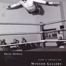 Brian Howell 2009 Art Exhibition Ad Advert Asian Cougar Wrestler Windsor Gallery