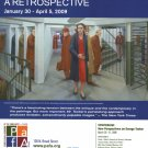 George Tooker Retrospective 2009 Art Exhibition Ad Advert