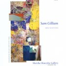 Sam Gilliam 2009 Art Exhibition Ad Advert Remembering Girls Ajar