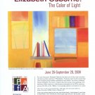 Elizabeth Osborne The Color of Light 2009 Art Exhibition Ad Advert