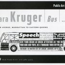 Barbara Kruger Bus 1997 Art Exhibition Ad Advert