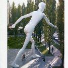 Jonathan Borofsky Walking Man 1997 Art Ad Advert